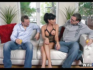 Wife gets Fucked by Her Husbands friend
