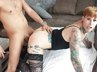REIFE SWINGER - Hardcore banging with tattooed mature German