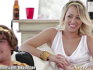 SweetSinner Lesbians Experiment  with Cock