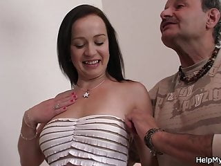 Husband friend bangs his hot wife