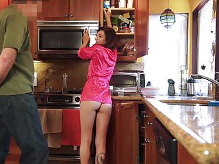 Pretty ass getting fuck by her stepdaddy