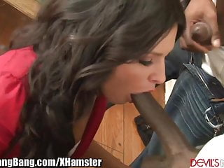 Danica Dillon DP'd and Gangbanged by 3 BBC's