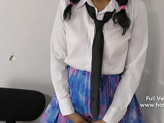 Naughty School Girl Bribing Horny Teacher