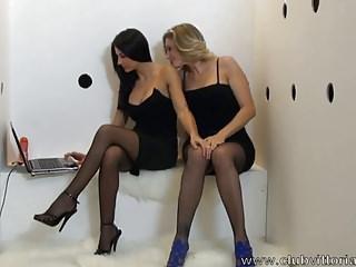 Glory Hole Blowjob -  Vittoria Risi e Sofia Gucci