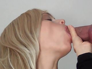 Magic blowjob dude cums twice