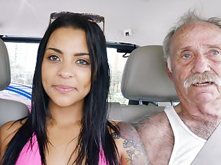 Nikki Kay Has Threesome Sex With Grandpas