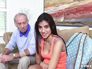 Teen Michelle Martinez vs Old Man