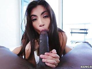 Michelle Michaels loves big black cock