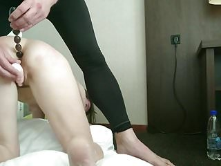 49yr Old Shy Dutch Mature : 1st Time Spanked & Anal