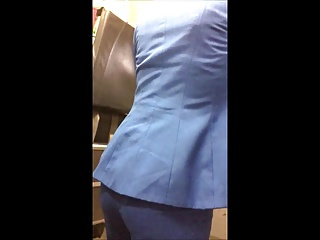 Air Stewardess Tight Ass