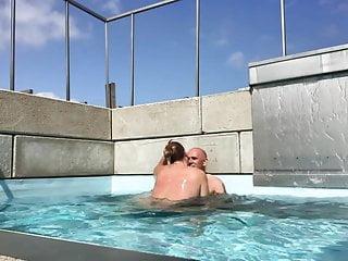 Lekker sex in het zwembad