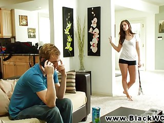 Lily Carter fucked by a black guy