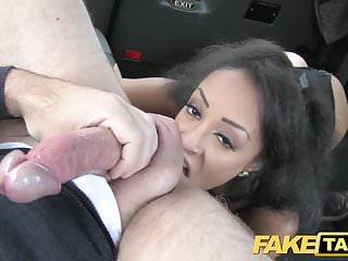 Fake Taxi beautiful young black girl in bodysuit