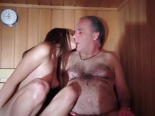 Dad Fucked Beautiful Virgin Young Pussy Gives Blowjob Gaggin