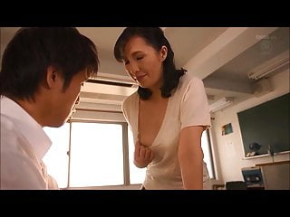 japanese Mature Teacher Fucks Student