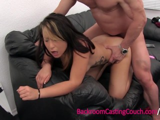 Anal Loving Vietnamese German Military Girl on Casting Couch