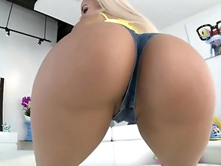 PAWG Blonde Latina Ass Fucked