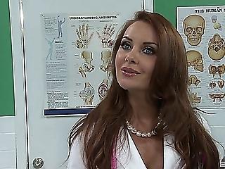Doctor Janet Mason fucks patient