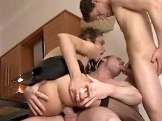 Bisex 2 guys+girl
