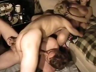 Amateur - MMF Homemade Bareback Bisex Threesome