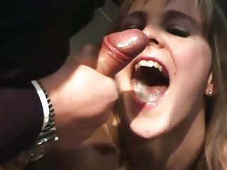 Cump Dump Wife - Bukkake Cinema Swallow - Part 2