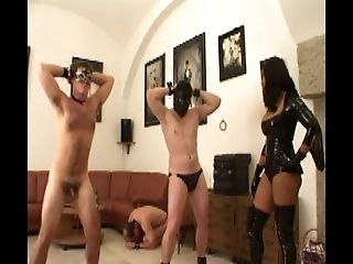 Dancing and Cleaning Slaves