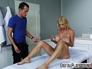 DigitalPlayground - Mother in Laws Massage with Alexis Fawx Justin Hunt
