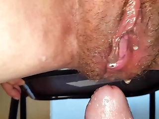 Granny pissing on me & creampied