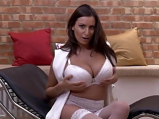 Awesome MOM with perfect body and hungry vagina
