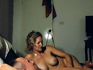 Just got  rough fucked by 4guys then fucking my partner