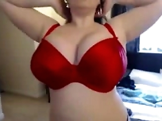 Teen BBW strip and play